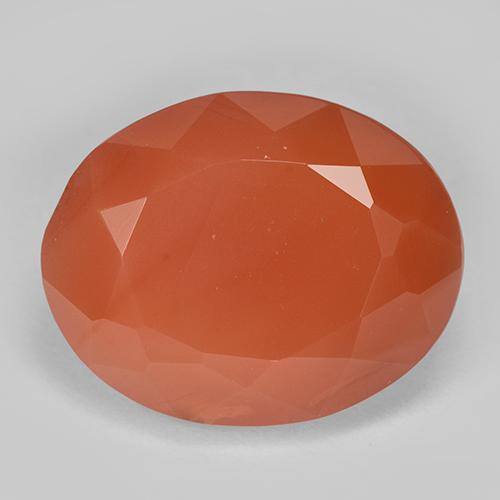 11.41 ct Forma ovalada Fire Orange Cornalina Piedra Preciosa 16.20 mm x 12.9 mm (ID del producto: 513177)
