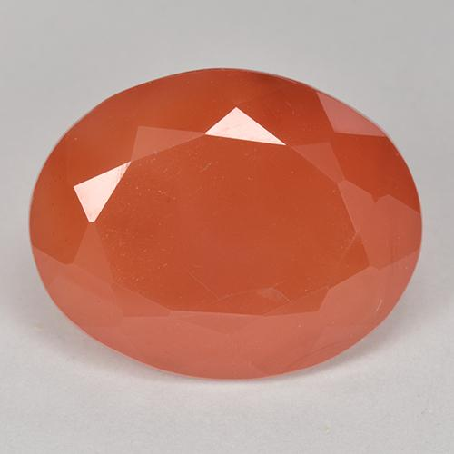 10.6ct Forma ovalada Fire Orange Cornalina Gema (ID: 513179)