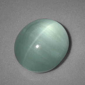Blue Cats Eye Stone Mm
