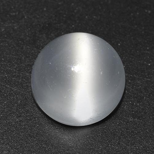 White Cat's Eye Moonstone Gem - 1.9ct Round Cabochon (ID: 517312)