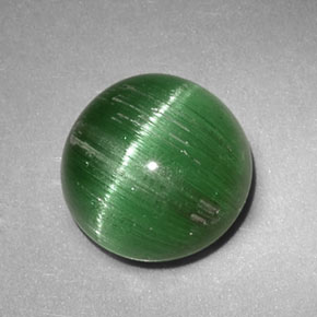 2.47 ct Natural Green Cat's Eye Tourmaline
