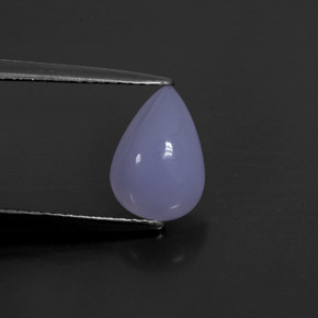 Buy 1.81 ct Lavender Blue Chalcedony 9.94 mm x 7 mm from GemSelect (Product ID: 302187)