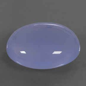 Buy 32.08 ct Lavender Blue Chalcedony 24.08 mm x 19.5 mm from GemSelect (Product ID: 311515)