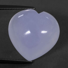Buy 12.88 ct Lavender Blue Chalcedony 15.78 mm x 15.7 mm from GemSelect (Product ID: 312800)