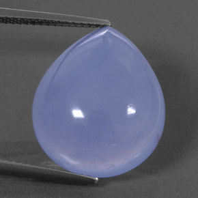 Buy 15.15ct Lavender Blue Chalcedony 18.86mm x 15.80mm from GemSelect (Product ID: 323851)