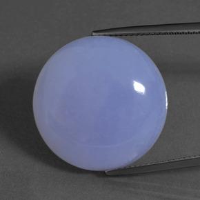 32 2 Carat Lavender Blue Chalcedony Gem From Brazil