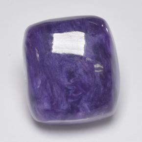 10.9ct Cushion Cabochon Violet Charoite Gem (ID: 499622)