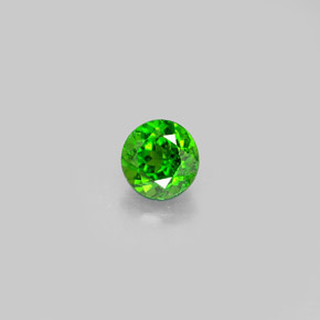 Buy 0.56 ct Green Chrome Diopside 4.91 mm  from GemSelect (Product ID: 290099)