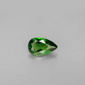 Buy 0.72 ct Green Chrome Diopside 7.83 mm x 4.9 mm from GemSelect (Product ID: 292552)