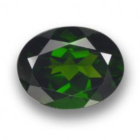 thumb image of 2.1ct Oval Facet Green Chrome Diopside (ID: 462974)