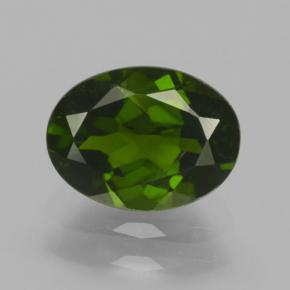 thumb image of 1.4ct Oval Facet Green Chrome Diopside (ID: 464969)