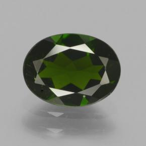 thumb image of 1.3ct Oval Facet Green Chrome Diopside (ID: 464980)