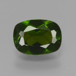 Buy 0.86 ct Green Chrome Diopside 6.94 mm x 5.1 mm from GemSelect (Product ID: 465090)