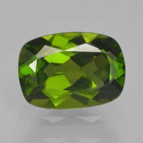 thumb image of 0.8ct Cushion-Cut Green Chrome Diopside (ID: 465098)
