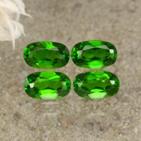 thumb image of 0.3ct Oval Facet Green Chrome Diopside (ID: 469164)