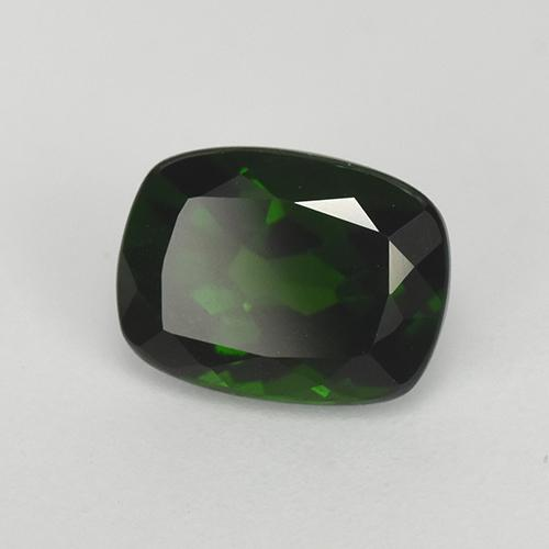 Green Chrome Diopside Gem - 1.6ct Cushion-Cut (ID: 510903)