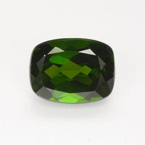 Green Chrome Diopside Gem - 1.8ct Cushion-Cut (ID: 510947)
