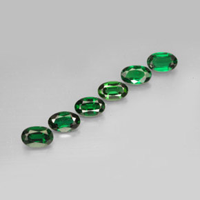 Buy 1.52 ct Vivid Green Chrome Tourmaline 5.09 mm x 3.3 mm from GemSelect (Product ID: 189084)