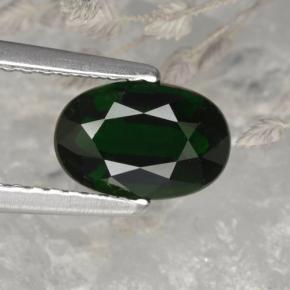 Buy 1.17 ct Green Chrome Tourmaline 7.96 mm x 5.3 mm from GemSelect (Product ID: 376958)