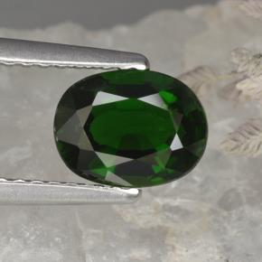 Buy 1.14 ct Green Chrome Tourmaline 7.57 mm x 5.8 mm from GemSelect (Product ID: 376960)