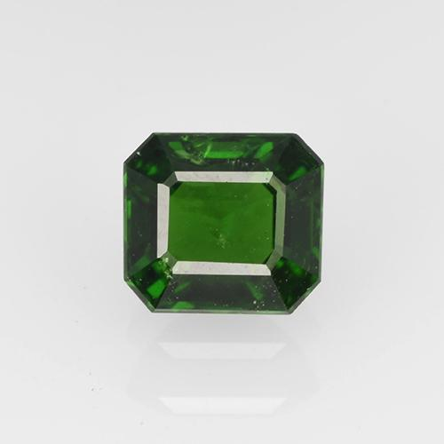 0.6ct Octagon Step Cut Green Chrome Tourmaline Gem (ID: 504965)