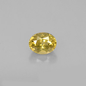 Buy 0.70ct Golden Chrysoberyl 5.35mm x 4.23mm from GemSelect (Product ID: 258869)