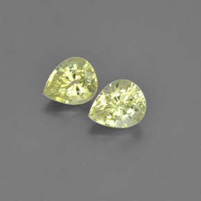 thumb image of 2.1ct Pear Facet Golden Green Chrysoberyl (ID: 366503)