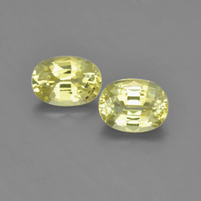 thumb image of 2.2ct Oval Facet Golden Green Chrysoberyl (ID: 366643)