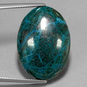 26 7 Carat Blue Green Chrysocolla Gem From Peru Natural