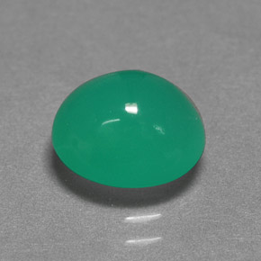 Buy 2.52 ct Green Chrysoprase 9.05 mm x 8 mm from GemSelect (Product ID: 272230)