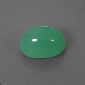 Buy 2.04 ct Green Chrysoprase 8.60 mm x 6.2 mm from GemSelect (Product ID: 301832)