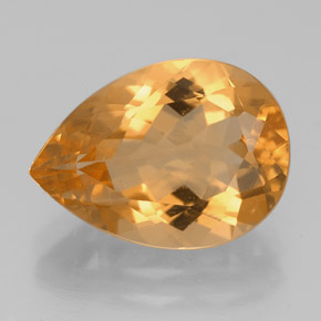 Buy 4.63 ct Yellow Golden Citrine 13.84 mm x 10 mm from GemSelect (Product ID: 219224)