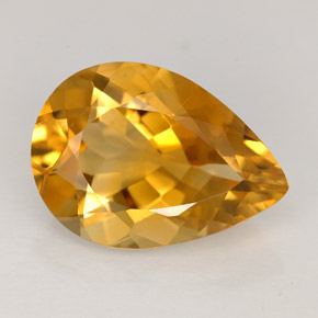 4.3 ct Natural Yellow Orange Citrine