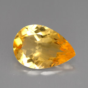 Buy 3.00 ct Golden Orange Citrine 12.97 mm x 9.1 mm from GemSelect (Product ID: 251784)