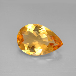 Buy 2.31 ct Yellow Golden Citrine 11.89 mm x 8.1 mm from GemSelect (Product ID: 261115)