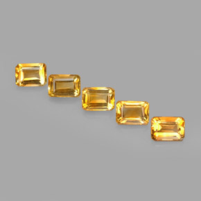 Buy 4.97 ct Yellow Golden Citrine 7.09 mm x 5.1 mm from GemSelect (Product ID: 275116)