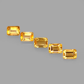 Buy 5.73 ct Yellow Golden Citrine 6.95 mm x 5 mm from GemSelect (Product ID: 275118)