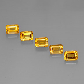 Buy 5.60 ct Yellow Golden Citrine 7.00 mm x 5 mm from GemSelect (Product ID: 275120)