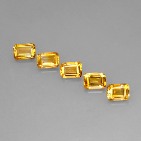 Buy 4.40 ct Yellow Golden Citrine 6.95 mm x 5 mm from GemSelect (Product ID: 275140)