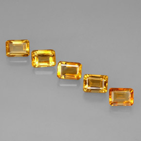 Buy 6.21 ct Yellow Golden Citrine 7.05 mm x 5.1 mm from GemSelect (Product ID: 275160)