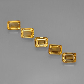 Buy 5.40 ct Yellow Golden Citrine 6.85 mm x 5.1 mm from GemSelect (Product ID: 275675)