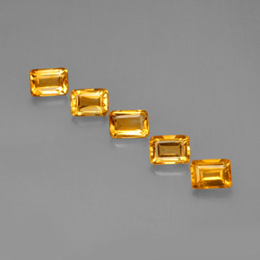 Buy 5.05ct Yellow Golden Citrine 6.98mm x 5.08mm from GemSelect (Product ID: 275688)
