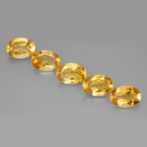 Buy 3.43 ct Yellow Golden Citrine 7.13 mm x 5.1 mm from GemSelect (Product ID: 286311)