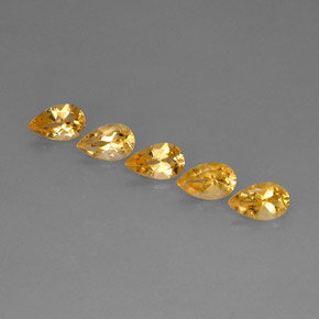 Buy 4.13 ct Yellow Golden Citrine 8.12 mm x 5.1 mm from GemSelect (Product ID: 286656)