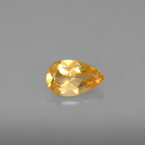 Buy 0.78 ct Yellow Golden Citrine 8.08 mm x 5.1 mm from GemSelect (Product ID: 289549)