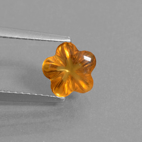 Buy 1.18ct Yellow Orange Citrine 7.34mm x 7.05mm from GemSelect (Product ID: 290395)