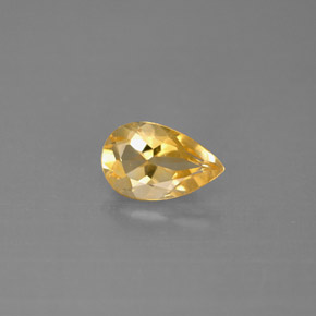Buy 0.83 ct Yellow Golden Citrine 8.15 mm x 5.1 mm from GemSelect (Product ID: 290547)