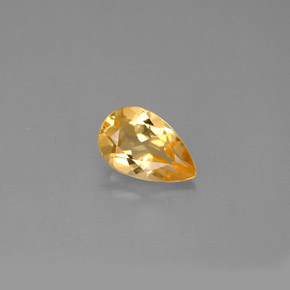 Buy 0.84 ct Yellow Golden Citrine 7.90 mm x 5.1 mm from GemSelect (Product ID: 290556)