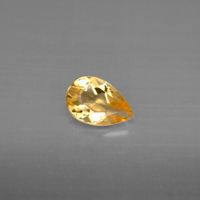 Buy 0.61 ct Yellow Golden Citrine 7.67 mm x 5.1 mm from GemSelect (Product ID: 294188)