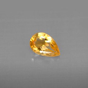 Buy 0.70 ct Yellow Golden Citrine 7.79 mm x 5.1 mm from GemSelect (Product ID: 294189)